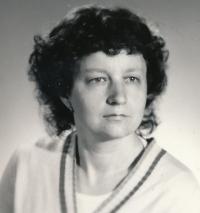 Jindra Lisalová v roce 1990