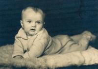 Jindra Lisalová v roce 1952