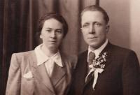 Blešovi, rodiče manžela pamětnice