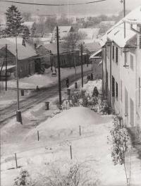 Morkovice - Slížany v roce 1980