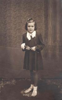 Jaroslava Blešová v dětství