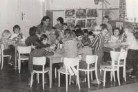 Jaroslava Blešová v mateřské škole