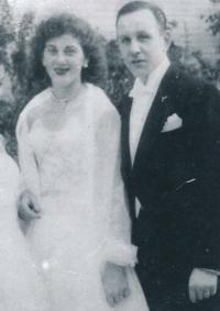 Stanislava a Eduard Císařovi, 1957