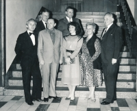 Eduard Císař (vlevo dole), 1983