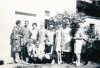 Letní škola 1968, studenti a přátelé