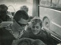S Vladimírem Janečkem v Tatrách, 1966
