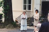 S Řádem britského impéria, 2002