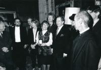 S Václavem Havlem v Oxfordu, 1998