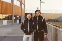 Vladimír Martinec a Ivan Hlinka, spoluhráči z národního týmu, mistři světa, dovedli jako trenéři Čechy k olympijskému zlatu v Naganu