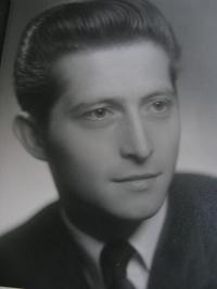 Jiří Lang, a photo of that time