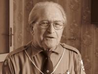 Jiří Lang, a photo from the filming, 2008
