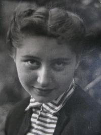 A wife of Jiří Lang