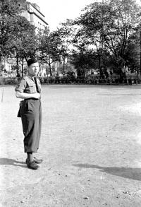 Jiří Lang, scout