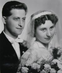 Jiří Lang, a wedding photo