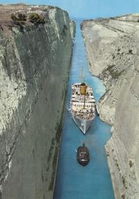 Loď, na které cestovali Edith a Victoria do Izraele