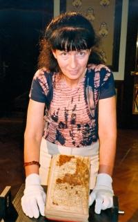 Při přípravě rukopisu, 2004
