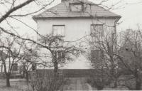 Nová Hospoda, zde bydlel tchán ve 40. letech