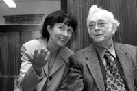 S Josefem Škvoreckým, 2004