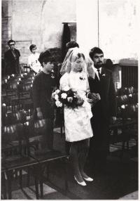 Svatba v kostele u Martina ve zdi, 1969