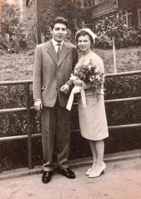 Svatba v roce 1961