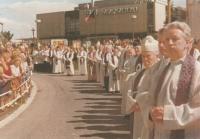 Unhošť, 1985