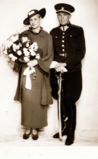 Rodiče Jana Límana (svatba v r. 1935)