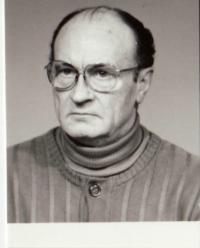 Jeden z hlavních členů odbojové skupiny Karel Vinický, 90. léta