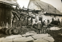 A miserable state of the brewery, in which it was handed over to the family in 1989