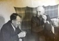 František Musil (on the right)