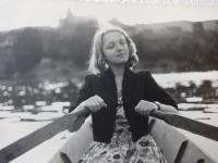Soňa Antošová v 50. letech