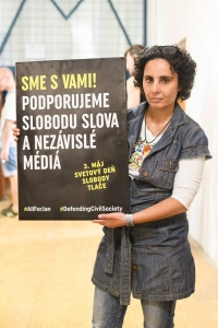Aktivistka a novinárka Denisa Havrľová