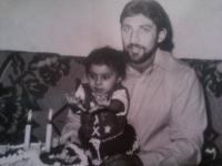 Denisa Havrľová s otcom