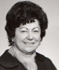Portrét Jitky Zemánkové z 80. let 20. st.