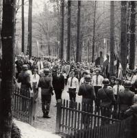 Pietní akce v roce 1951