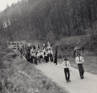 Pietní akce po válce 1952