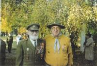 Jan Plovajko a p. Zelený při výročí