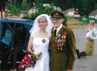 Na svatbě své vnučky