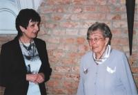 Oslava 90. narozenin s dcerou