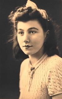 Šárka Růžková - Portrét z mládí
