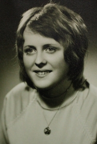 Lenka Šepsová jako studentka medicíny