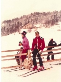 Bruno Brych na horách