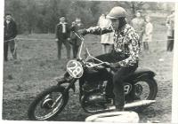 Bruno Brych na motoristických závodech
