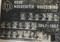 Klub moravských kouzelníků 1947-1957, Vladimír Buček starší ve spodní řadě druhý zprava