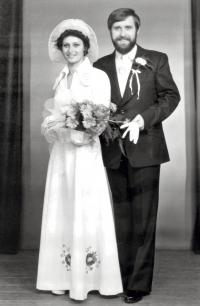 Svatba Václava Bruny s Ludmilou Babinskou (1976)