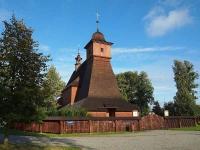 Dřevěný kostel v Hrabové