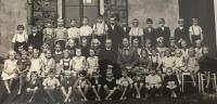 V obecné škole v Hrabové