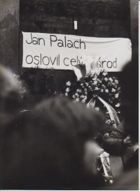 Z Palachova týdne 1989