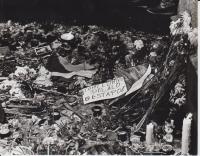 V upomínku demonstrantů 1989