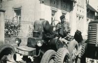 Konfiskace traktoru Svoboda 12, 1952