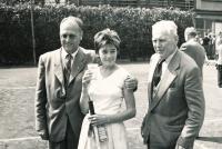 Vlasta Vopičková v roce 1960 po výhře na dorosteneckém mistrovství republiky
